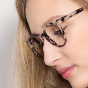 Cat Eye Ivory & TortoiseEyeglasses